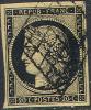 # France    3, Used,  VF+, Sound (fr003-13, [16-DR - 1849-1850 Ceres