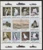 P445.-.ARGENTINIEN / ARGENTINA .-. 1980 .-. MI # : 1465-76 .-. MNH  SHEET .-. PENGUINS / BIRDSA .-.  ISLAS MALVINAS. - Penguins