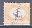Italy J 3   (o) - 1861-78 Vittorio Emanuele II