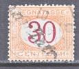 Italy J 8   (o) - 1861-78 Vittorio Emanuele II