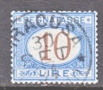 Italy J 19  (o) - 1861-78 Vittorio Emanuele II