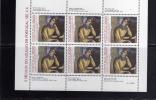 PORTOGALLO - PORTUGAL 1985 5 SECOLI DI MAIOLICHE MINIFOGLIO - AZULEJO BLOCO - MAJOLICAS SOUVENIR SHEET MNH - Blocks & Kleinbögen