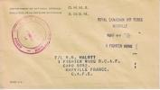 Canada  Modern  Postal History RCAF At GAZA STRIP NATO - 1952-.... Reign Of Elizabeth II