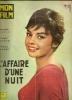 """MON FILM Spécial  N° 688  - 1961 """" L'AFFAIRE D'UNE NUIT """" ROGER HANIN / PASCALE PETIT - Dos: JEAN SOREL - Cinema"""