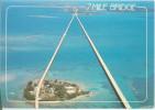 FLORIDA-PIGEON KEY-THE 7 MILE BRIDGE- CIRCULATED 1991 - Key West & The Keys
