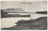 ICELAND - HVITA River, Old Postcard - Islandia