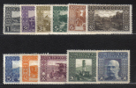 AP412 - BOSNIA ERZEGOVINA 1906 , 11 Valori Dell'emissione  *  Mint - Bosnia Erzegovina