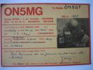 KRAAINEM - Kaart Carte Radio Amateur 1967 - ON5MG - GERARD MOREL - Kraainem
