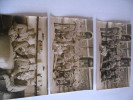 LOT DE 3 CARTES 83E RAL..PHOTOE.SOUILLARD..VINCENNES - Personnages