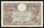FRANCE - BANQUE De FRANCE - 100 FRANCS (BN. 08 - 09 - 1932) - LUC OLIVIER MERSON - 1871-1952 Antichi Franchi Circolanti Nel XX Secolo