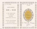 CARTE PARFUMEE ESPACE CHERAMY PATIS 1966 (CALENDRIER) - Vintage (until 1960)