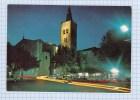CPSM - PRADES - L' Eglise Saint Pierre La Nuit - Prades