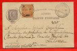 ANGRA ENTIER POSTAL 20 REIS DE 1899 POUR TOULOUSE FRANCE - Angra
