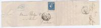 France: Yv  45 C Type 2 Rep 3,1871,  GC2032 Bordeaux A Toulouse  Cote € 90 - Marcophilie (Lettres)