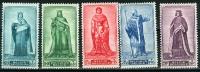 N° 751-755 XX - 1947 - Unused Stamps