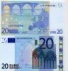 EURONOTES BANCONOTA BILLET DA 20 EURO L FINLANDIA  G015F6 FDS UNC - EURO