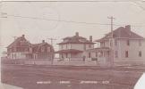 Lethbridge - Bartlett Street. Real Photo, Postally Used, 1909. - Alberta