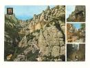 Cp, Espagne, Montserrat, Multi-Vues, Voyagée 1974 - Barcelona