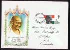 1969  International Gandhi Year  SG 807  FDC - FDC
