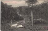 Kouilou French Congo, Repulbic Of Congo, Village On River, Niari To Mandji, C1900s Vintage Postcard - Congo - Brazzaville
