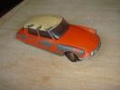 Dinky Toys Citroen Ds 19 Orange Toit Blanc  Essieu Avant A Remetre Droit - Dinky