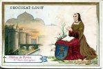 Chocolat Louit   Chateau De Nantes XV Siecle Anne De Bretagne - Louit