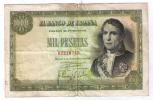 BILLETE DE 1000 PESETAS DE 1949 - RAMON DE SANTILLAN - USADO (VER FOTOS) - [ 3] 1936-1975: Regime Van Franco
