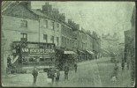 """Drake Street, Rochdale"",   Posted 1903 (partial ""LITTLEBOROUGH"" Sq.circle).   (tram, Advert) - Inghilterra"