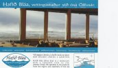 Iceland   Hafid Bláa-Blue Sea Restaurant.  B-886 - Iceland
