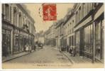 Carte Postale Ancienne Saint Pol Sur Ternoise - La Rue D´Hesdin - Frankrijk