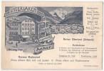 (Suisse) Berne 011, Interlaken, Carte Avec Facture Au Dos, Berner Oberland, Grosse Restaurant, Weissang - BE Berne