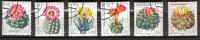 ALLEMAGNE ORIENTALE D D R 1983 N° 2245 à 2450 SIX Timbres Oblitérés. Cactus. - Cactus
