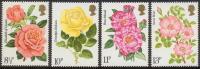 Grande-Bretagne - Roses 795/798 ** - Roses
