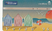 "PORTUGAL(L&G) - Verao ""96(50 Units-puzzle 1/2), CN : 605K, Tirage %20000, 05/96, Used - Portugal"