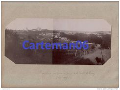 77 - Provins - Montage De 2 Photos Format 26.7 X 11.5 - Vue Prise Au Dessus De La Route De Bray -( Aout 1898) - Lieux