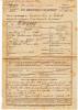Etat Signalétique Et Services + Lettre, Soldat Mort Au Front 1918, 73e Régiment D´Infanterie( Béthune, Antibes, Nice) - Documents