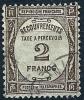 """FR Taxe YT 62 """" Typo 2F. Sépia """" 1927_31 Oblitéré - Taxes"""