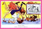 Carte Humour - Sportifs En Chambre - Catch .. Comme à La Télévision ! - M.D. PARIS Série N° 1992 - BOZZ - Altre Illustrazioni