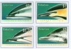 TOKELAU 1996 DAUPHINS  YVERT  N°229/32 NEUF MH* - Dolphins