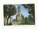 Cp, 09, Pamiers, LA Cathédrale Saint-Antonin, écrite