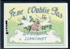 60  LIANCOURT  .. ..Carte Souvenir ..... Dessin Fusain ..... Edition Luxe - Liancourt