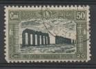 ITALIA REGNO 1928 MILIZIA 50 CENT. N° 221 DIF. (r. 6508) - Usati