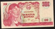 INDONESIA  P108   100   RUPIAH    1968    UNC. - Indonesia