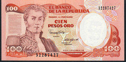 COLOMBIA    P426c    100   PESOS ORO   12.10.1988    UNC. - Colombia