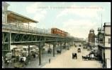 CPA. ETATS UNIS. Elevated R.R. And Station, Delaware Avenue, Philadelphia, Pa. - Philadelphia