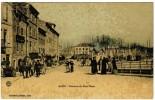 CPA Alais, Alès, Descente Du Pont Vieux (pk4693) - Alès
