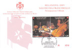 SMOM  MILANOFIL 2009 PARTECIPAZIONE UFFICIALE - Malta (Orden Von)