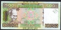 GUINEA (République De Guinée )  : 500 Francs -  2006- P36 - FDS - Guinea