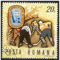 Rumania 1970 Scott 2148 Sello º Sports Campeonato Mundial Hockey Hielo Saque Inicial 20B Romania Stamps Timbre Roumanie - 1948-.... Repúblicas