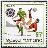 Rumania 1970 Scott 2175 Sello º Sports Futbol Mexico Football Chilena 55B Romania Stamps Timbre Roumanie Briefmarke - 1948-.... Repúblicas